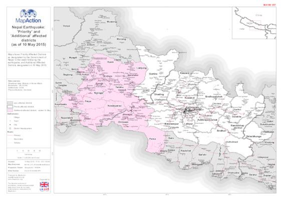 Nepal maps IFRC